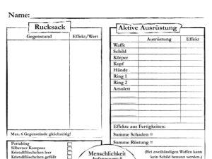 Downloads Spielbuch Das Feuer des Mondes, Abenteuerbogen